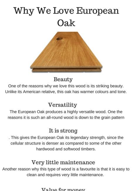 Why we love european oak flooring