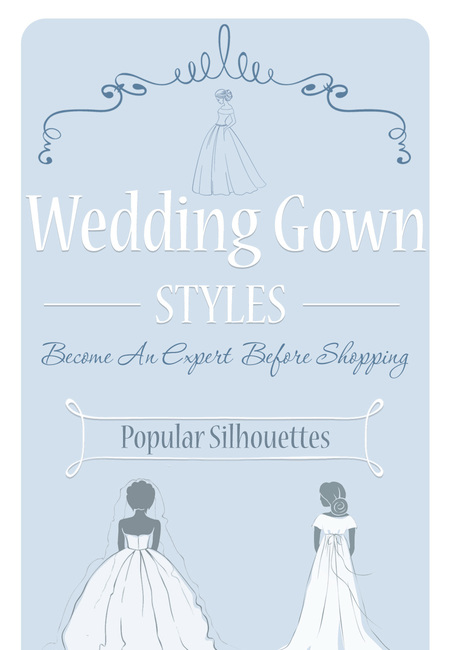 Wedding gown styles infographic