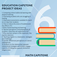 Awesome 100 capstone project ideas