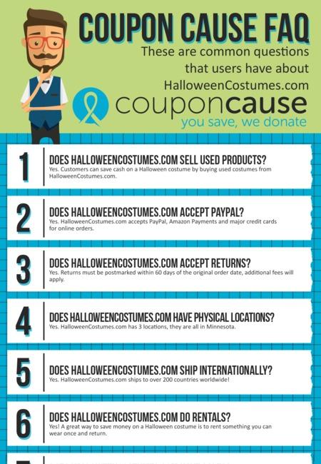 Halloweencostumes com coupons infographic