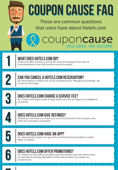 Hotels com coupons infographic