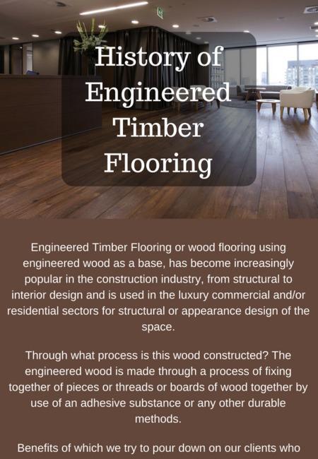 History of engineered timber flooring