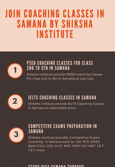 Coaching classess in samana