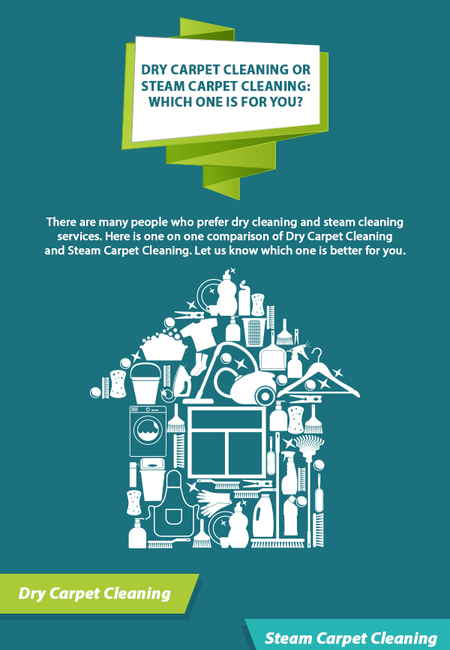 Dry carpet cleaning or steam carpet cleaning