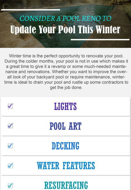 Consider a pool reno to update your pool this winter