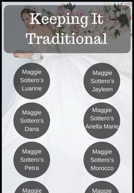 Keeping it traditional wedding