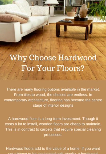 Why choose hardwood for your floors