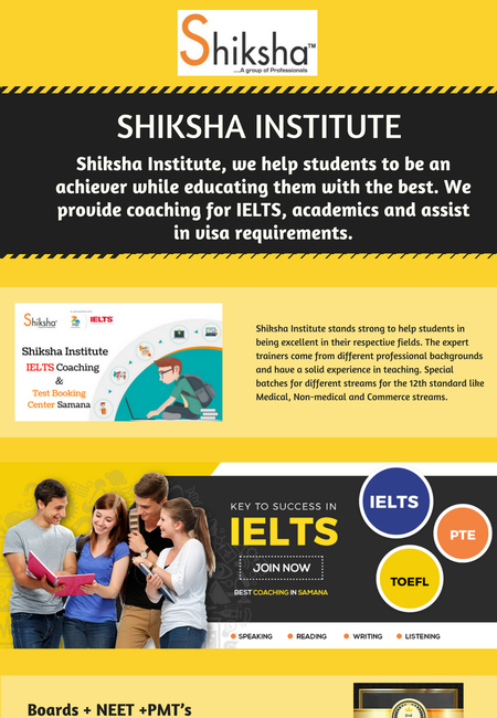 Best coaching classes in shiksha institute
