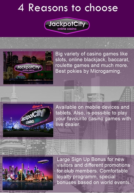My infographics jackpot city