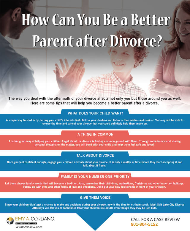 How can you be a better parent after divorce