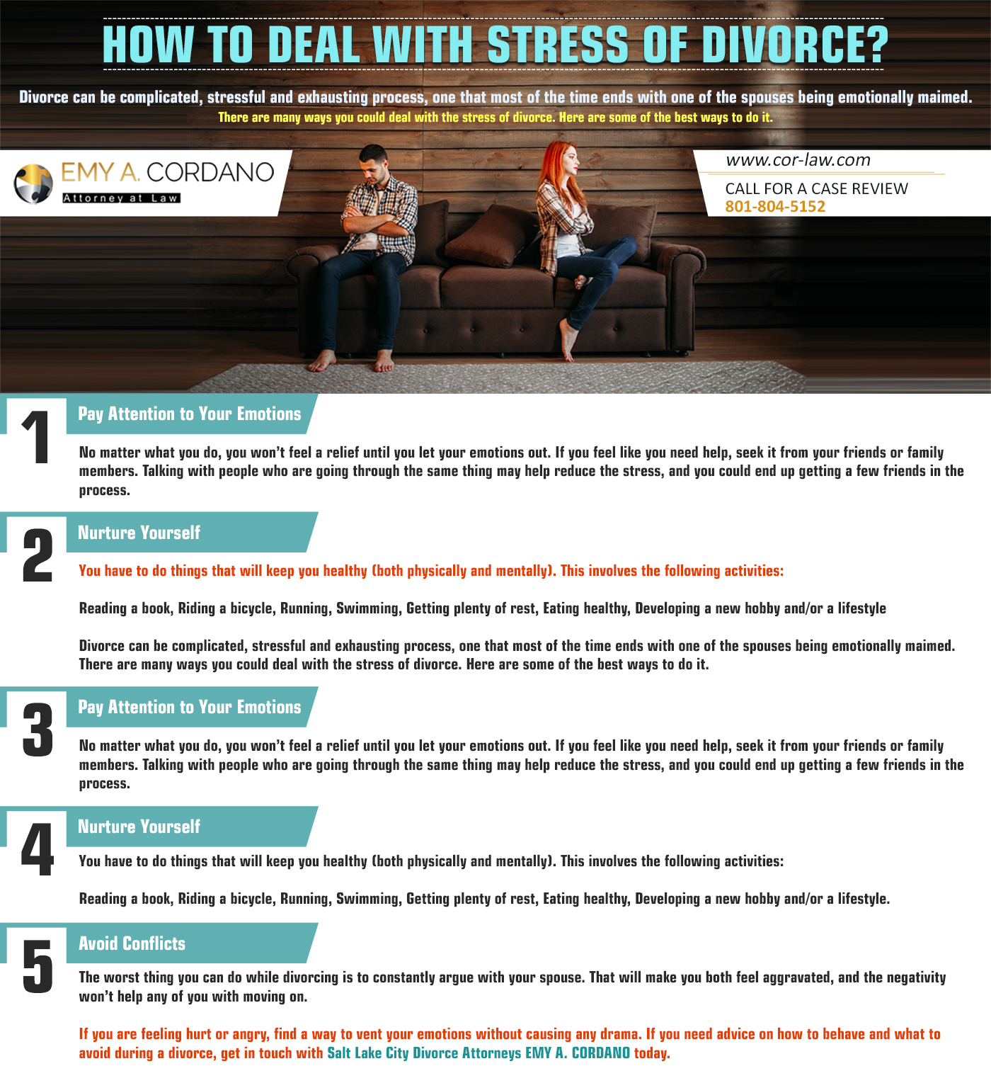 How to Deal With Stress of Divorce?