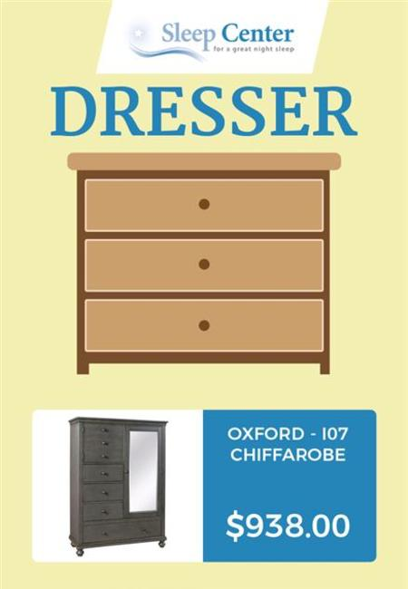 Choose from sleep center%e2%80%99s range of bedroom dressers online