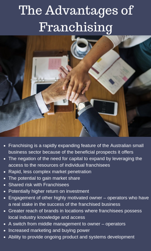 The advantages of franchising