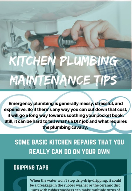 Kitchen plumbing maintenance tips
