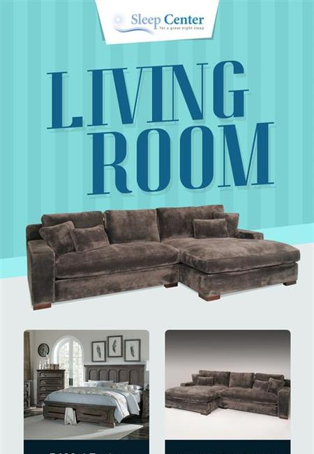 Shop modern living room furniture online at the best prices from sleep center