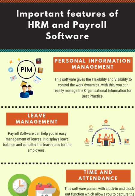 Important features of hrm and payroll software