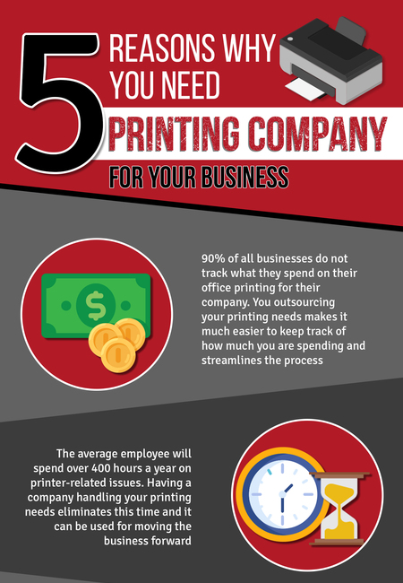 5 reasons why you need a printing company for your business  infographic