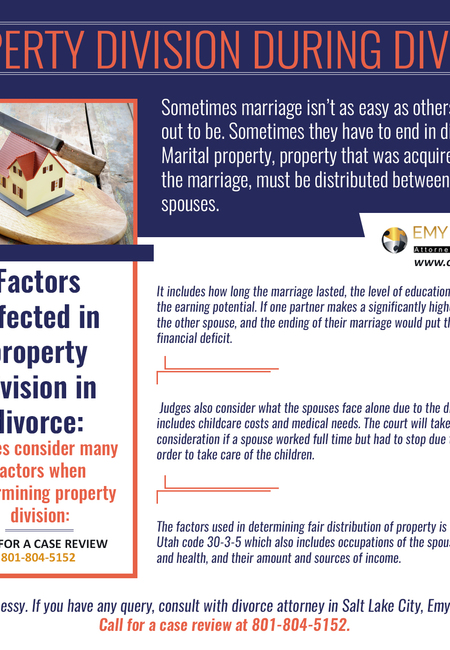 Property division during divorce
