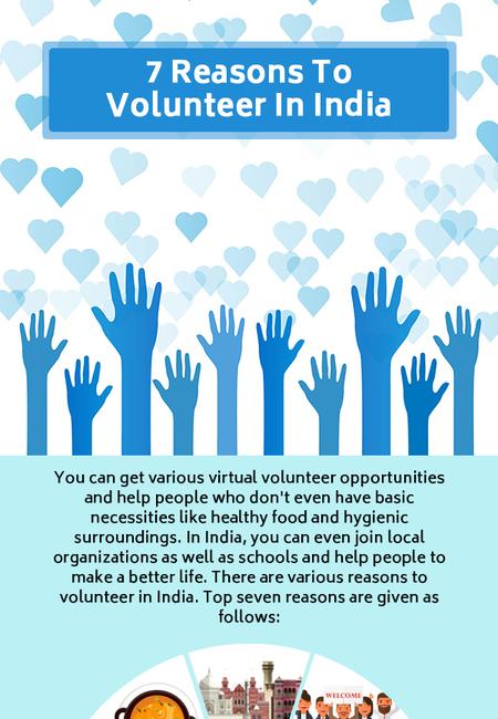 7 reasons to volunteer in india in 2018