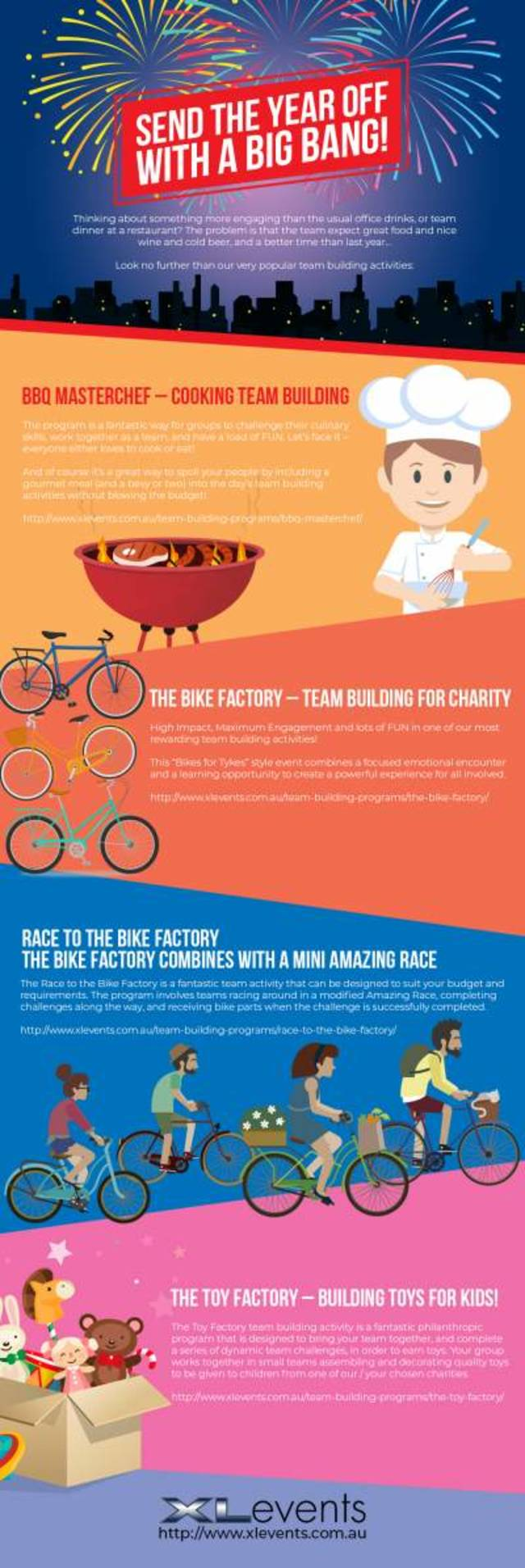 Christmas team building activities   infographic