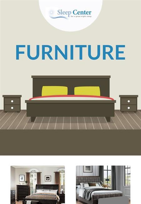 Shop modern   stylish furniture items online from sleep center
