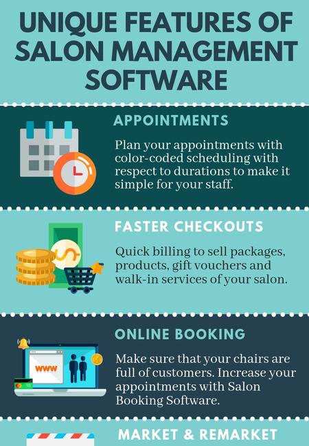 Unique features of salon management software