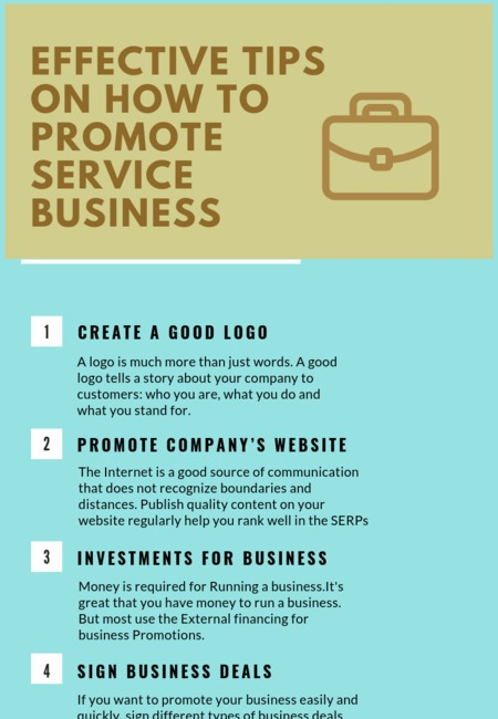 Effective tips on how to promote service business (1)