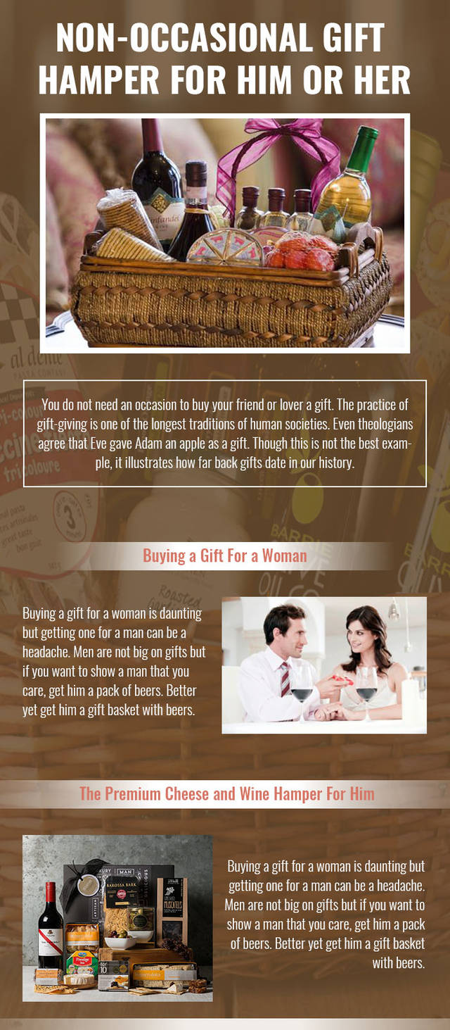 Non occasional gift hampers