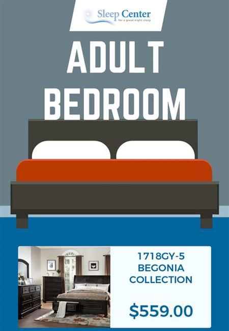 Choose from sleep center%e2%80%99s wide range of adult bedroom furniture in sacramento