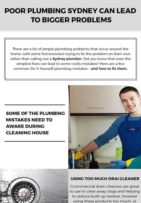 Low or poor knowledge is always harmful in plumbing