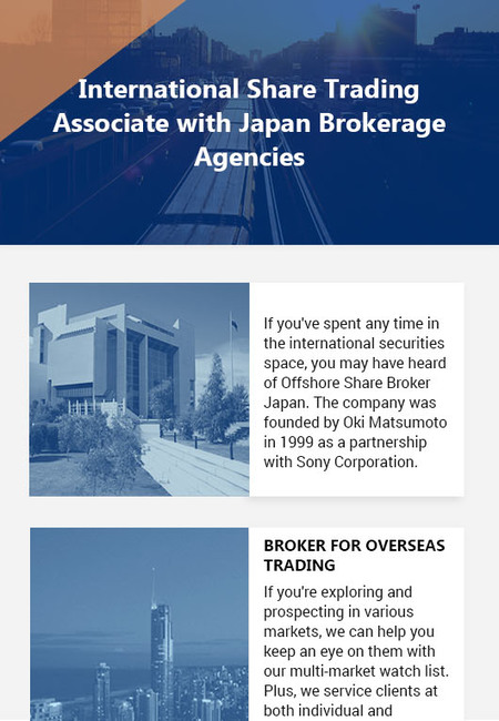 International share trading associate with japan brokerage agencies