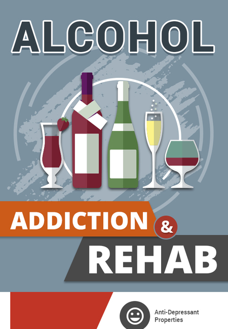Alcohol addiction rehab infographic