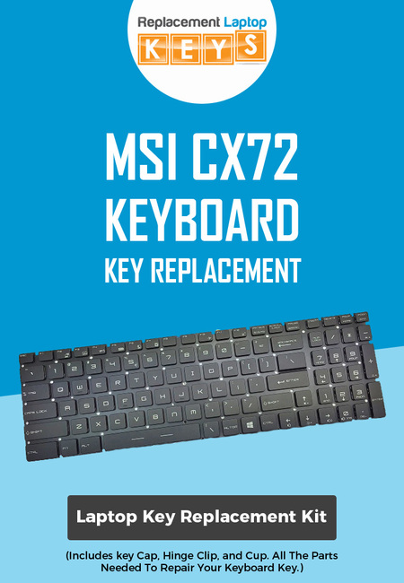 Shop msi cx72 keyboard replacement keys from replacement laptop keys