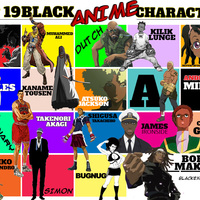 Black anime characters final