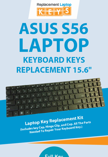 Order 15.6 asus s56 laptop replacement keys online from replacement laptop keys