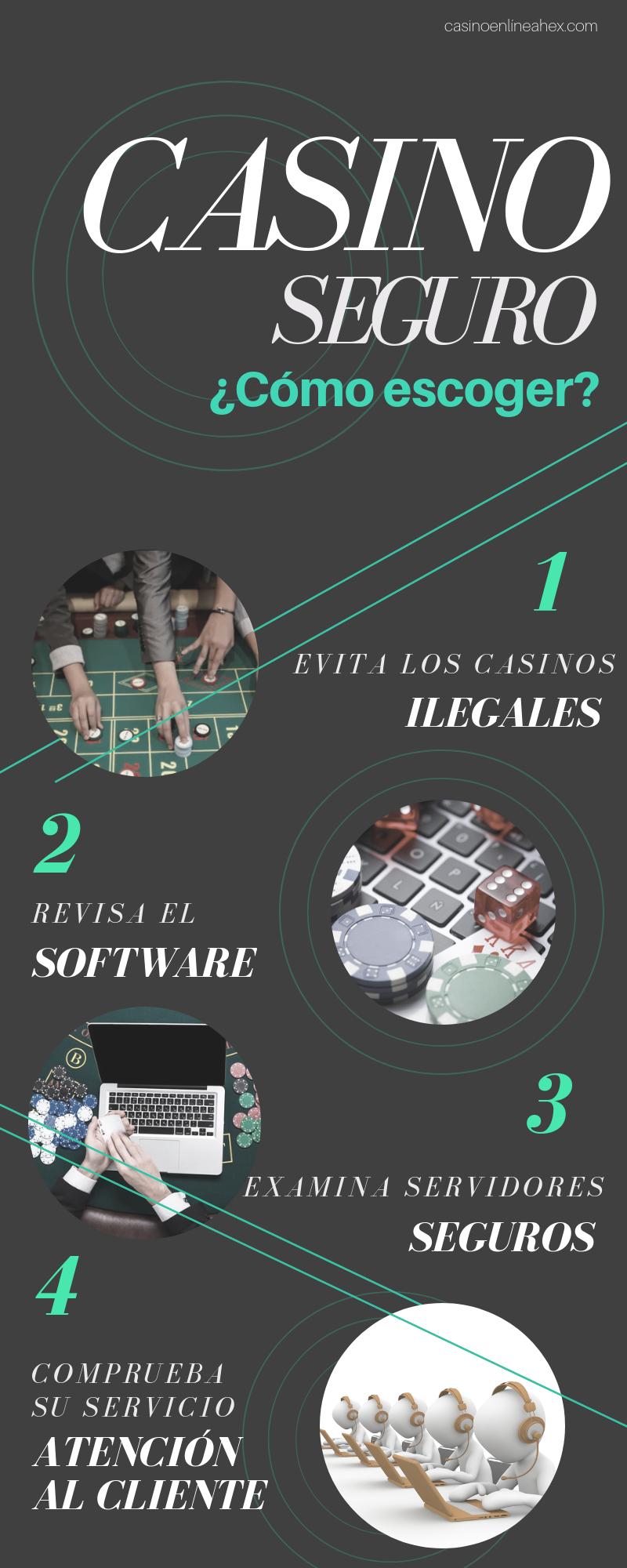 Escogemos casinos online seguros con Casino En Línea HEX