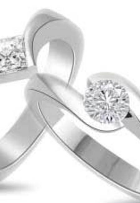 Subcategory solitaire ring