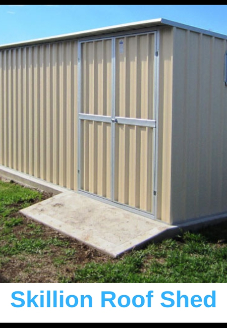 Skillon roof shed