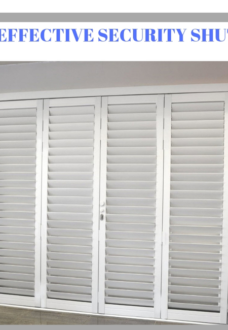 Security shutters(1)