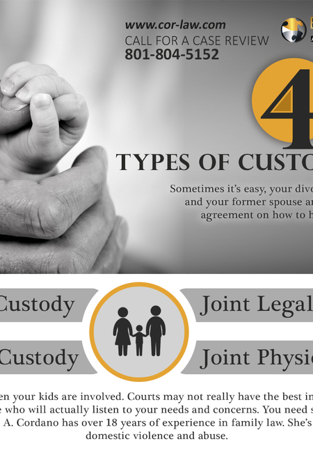4 types of custody in utah