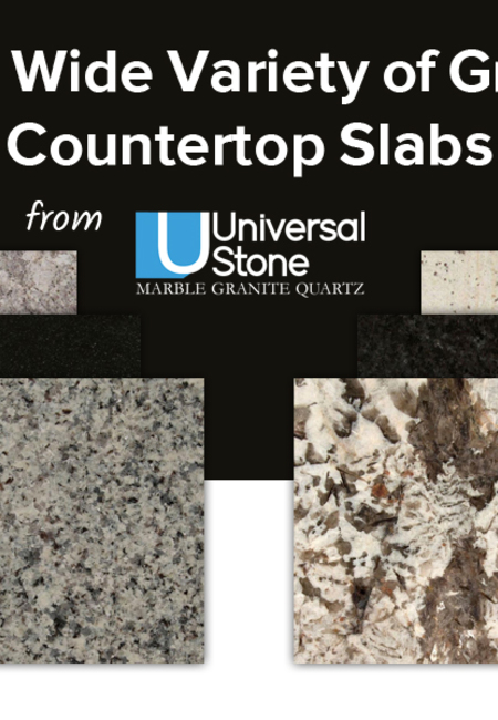 Buy a wide variety of granite countertop slabs from universal stone