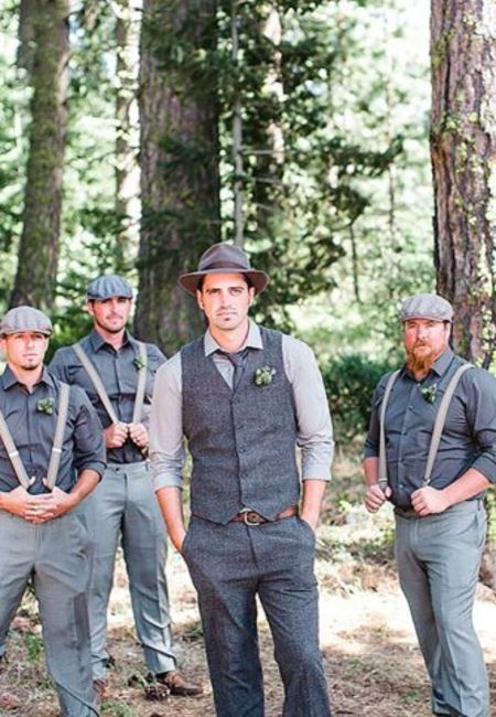 Rustic country groom attire cowboy style jacquelynn brynn 27 334x500