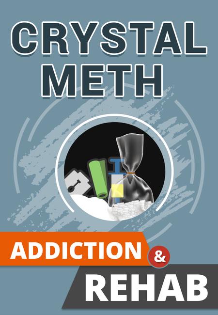 Crystal meth addiction rehab infographic