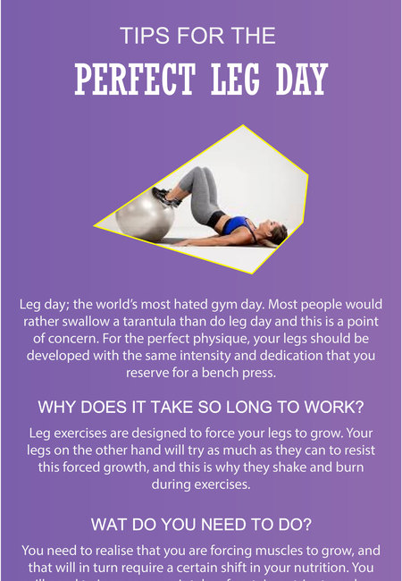 Tips for the perfect leg day