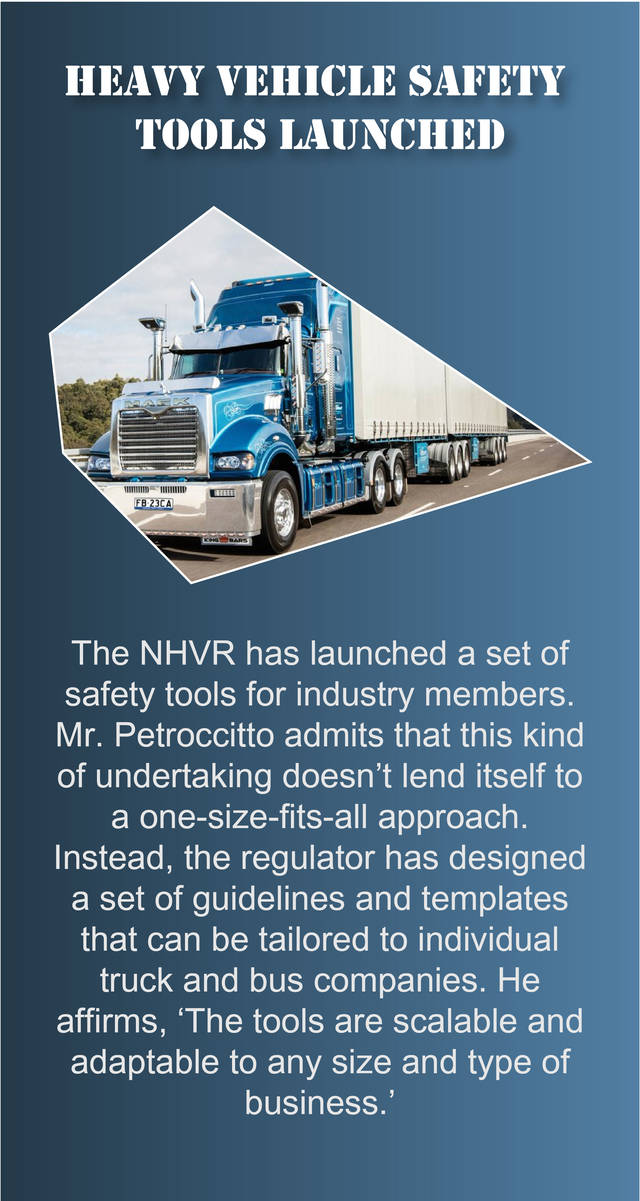 Heavy vehicle safety tools launched