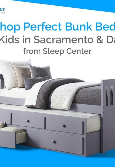 Shop perfect bunk beds for kids in sacramento   davis from sleep center
