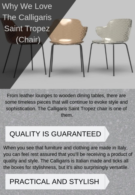 Why we love the calligaris saint tropez (chair)
