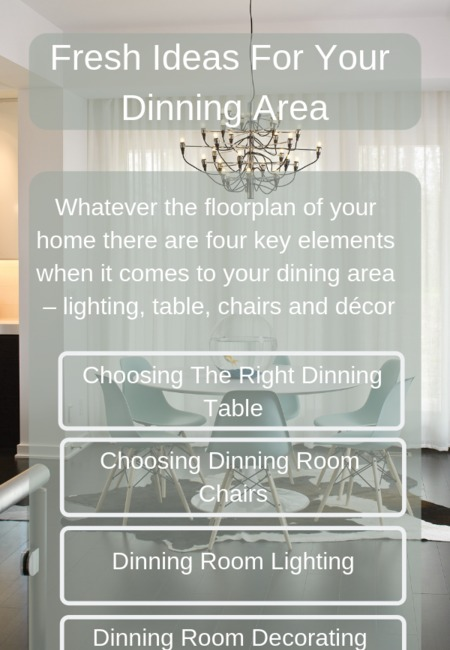 Fresh ideas for your dinning area