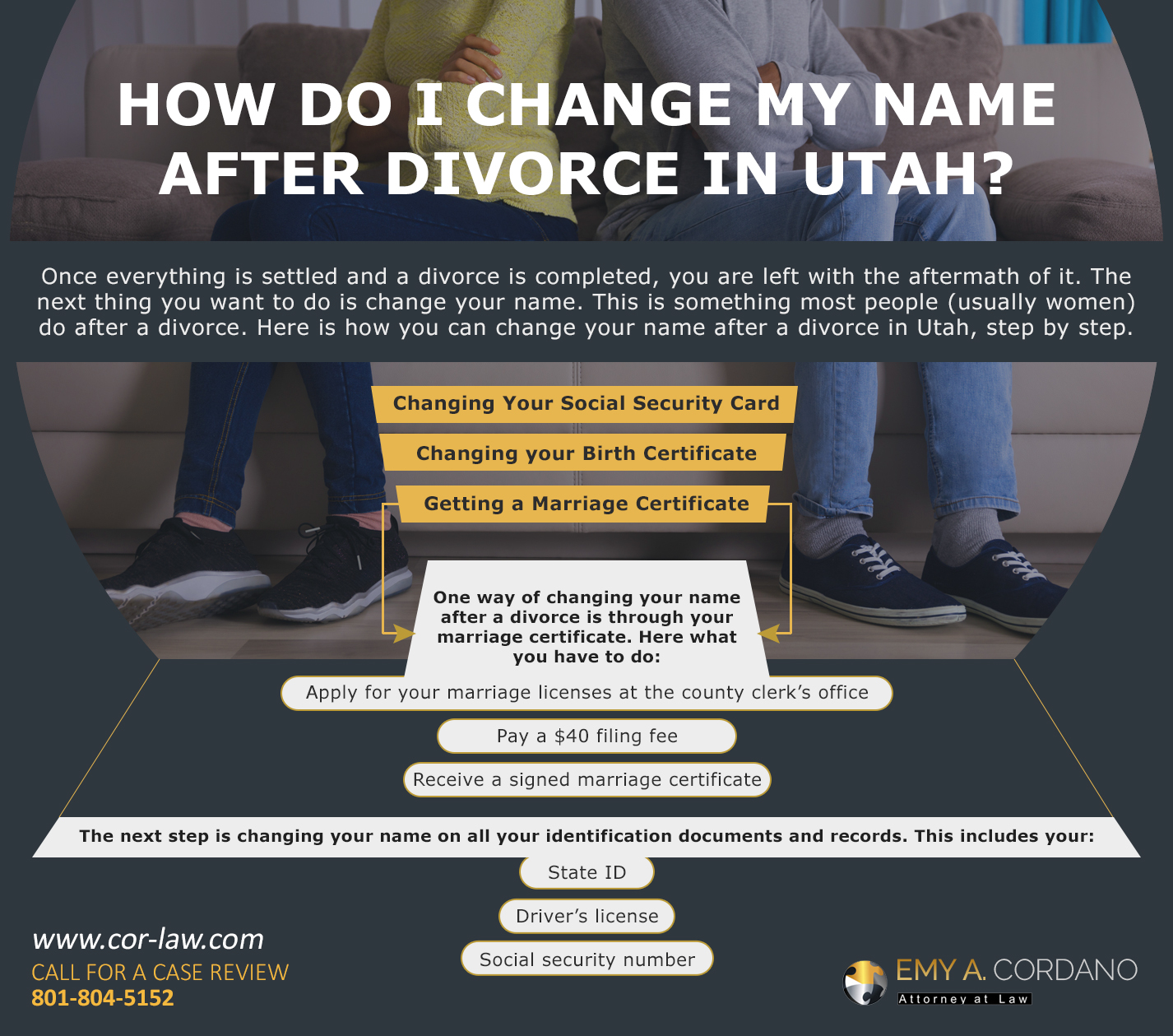 How Do I Change My Name After Divorce in Utah?