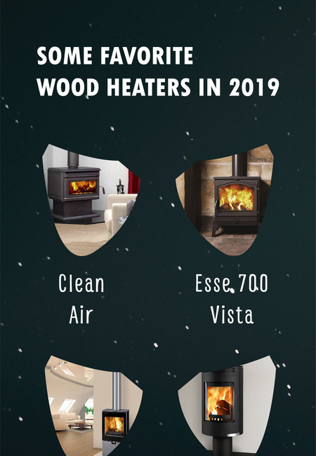 Some favourite wood heaters in 2019